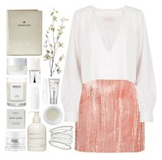 """""""Geen titel #450"""" by s-ensible ❤ liked on Polyvore featuring Laura Mercier, Korres, Topshop Unique, Stone_Cold_Fox, Sans [ceuticals], Miss Selfridge, Woodlot, FOSSIL, SUQQU and Christian Dior"""