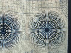 Mariner's Compass by Emiko Yoshino detail. Quilting Board, Longarm Quilting, Machine Quilting, Quilting Tutorials, Quilting Designs, International Quilt Festival, Mariners Compass, Circle Quilts, Japanese Quilts