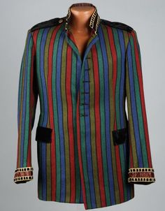 Jimi Hendrix's jacket, made by London tailors Dandie Fashions, and worn from April-May 1967.