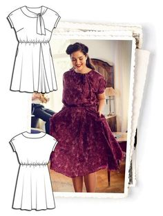 Timeless Romance: 9 New Plus Size Patterns – Sewing Blog | BurdaStyle.com