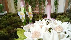 Tema Sininho e mesa decorada pela Flavia Tie e festa realizada no Buffet Museu Miniland Tatuapé 🎈 #Disney #tinkerbell