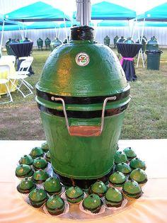 Big Green Egg cake                                                                                                                                                      More