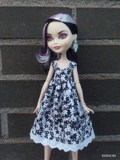 Dress for Azone dolls body pure neemo XS. by Kosucas on Etsy