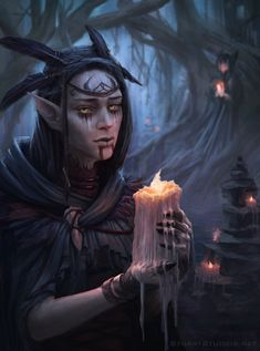 The Forest Witch by StuArtStudios.deviantart.com on @DeviantArt