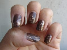 Crackle with tape