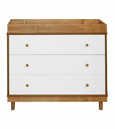 Babyletto Skip Changer Dresser in Chestnut