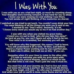 I was with you..#loss#grief