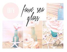 ..Twigg studios: sea glass diy