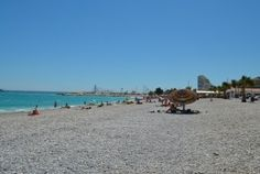 La plage de Marina Baie des Anges, pas si mal que ça...