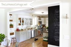 Kitchen | The Lettered Cottage