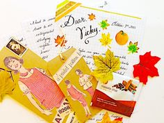 The Lost Art of Letter Writing...Revived!: Autumm Snail Mail...Oh the Letters That Fly!