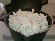 If you have a Pampered Chef micro cooker you can make microwave popcorn in minutes! Take 1/4 cup popcorn-cover loosely with lid and nuke for 1:50-2:10. Fresh crunchy and healthy! Add a splash of butter and salt for corny perfection. www.pamperedchef.biz/nhkateskitchen