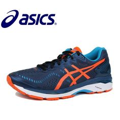 c35b7dbbffb ASICS GEL-KAYANO 23 Asics 2018 New Hot Sale Man s Cushion Stability Running  Shoes ASICS Sports Shoes Sneakers GQ Gym Shoes Men