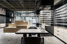 View the full picture gallery of SPEX Optic Store Glass Store, Retail Interior Design, Clean Space, Open Layout, Store Design, Minimalism, Modern, Behance, Furniture