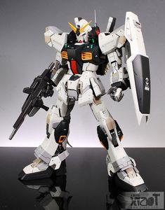 GUNDAM GUY: MG 1/100 RX-178 Gundam Mk-II - Customized Build