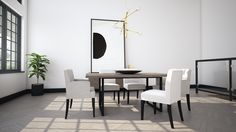 Introducing, the new Fumo Collection by Interior Decorating, Interior Design, Modern Furniture, Dining Table, House Design, Home Decor, Drawing Room Interior, Design Interiors, Homemade Home Decor