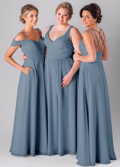 Enter to win 3 FREE Kennedy Blue Bridesmaid Dresses! Contest ends January 22, 2017.