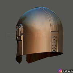 Download 3D printing designs MANDALORIAN HELMET - STAR WARS movie 2019 ・ Cults 3d Prints, Movies 2019, Mandalorian, Make A Donation, My Design, Helmet, Star Wars, Printing, Costume