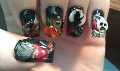 Scary Good Nail Art www.salonfanatic.com