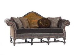 Luxurious Paul Robert Furniture At Luxedecor Sofa Rustic Living Room