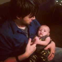 Seeing him care for a baby is so attractive. Makes me want one of my own. ❤