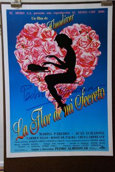 Vintage Poster Signed by Pedro Almodovar by onlyart on Etsy, $500.00