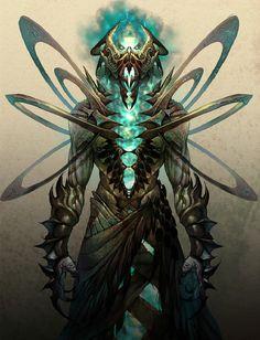 Arcanoloth Art