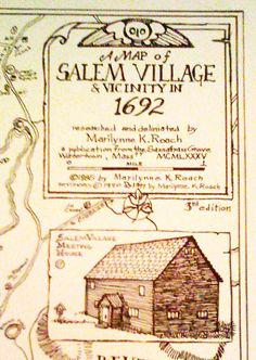 Salem Village is actually Danvers, MA not Salem. My {distant cousin} Rebecca Nurse ~ check her out.not a happy ending! Wiccan, Witchcraft, Pagan, Boston Vacation, Medieval, Salem Mass, Witch History, Salem Witch Trials, Provence