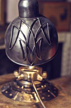 Metal lamp от WildWelding на Etsy