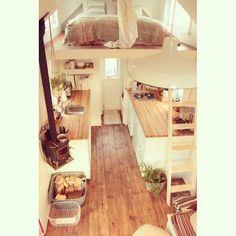 Ma Maison logique | Mini-maison - Tiny house | On chauffe la cabane !                                                                                                                                                                                 Plus