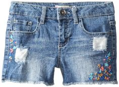 BESTSELLER! Squeeze Big Girls' Embroidered Shorts... $7.95