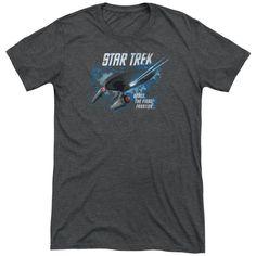 Star Trek The Final Frontier Adult Tri-Blend T-Shirt