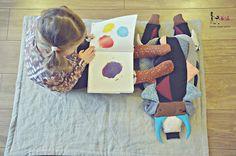 Zabawki sensoryczne - Kokodyl   Ma i Lu
