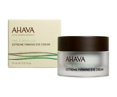 AHAVA Eye Cream ... and, for that matter, ALL Ahava products