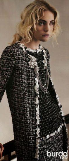 «Случайное» маленькое черное платье… / Фотофорум / Burdastyle
