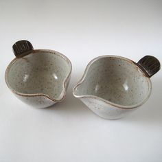 Bird Bowl Pouring Bowls by Jude Allman, via Flickr