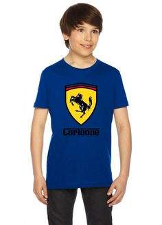 scuderia corleone (collab with jay hai) funny Youth Tee