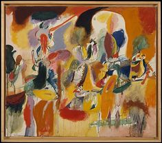 Water of the Flowery Mill by Arshile Gorky (1944) in the Metropolitan Museum of Art.