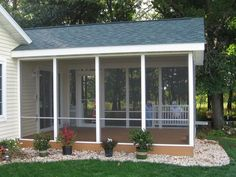 Planning & Ideas:Screening Porch Style Ideas Screening Porch Ideas