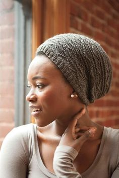 Rosendale Slouchy Hat - Knitting Patterns and Crochet Patterns from KnitPicks.com by Alexis Winslow