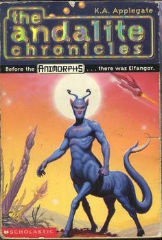 THE ANDALITE CHRONICLES Elfanger SCI FI K.A. Applegate1997 1st Ed OOP paperback