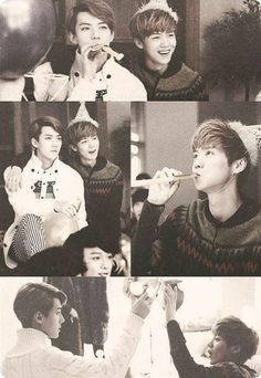 HunHan moments ❤
