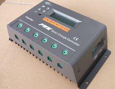 60A 12V 24V VS6024N Solar Controller Circuit, Solar Tracker, Electronics, Consumer Electronics