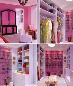 If I had to dream of a changing room and closet my dream would start off like this so just imagine the closet I'm looking for...hmmm!