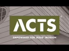 Watch the trailer for our next sermon series, Acts: Empowered for Jesus' Mission, starting May Topical Sermons, Church Sermon, Sermon Series, Church Design, Cool Fonts, Creative Inspiration, Event Design, Mars Hill, Acting