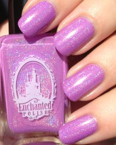 "Enchanted Polish in the colour "" I'm kind of a big deal. ""   With that type of nail polish, I'm sure they are!!!"
