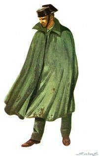 Guardia Civil - Espana 1976 - winter coat, pin by Paolo Marzioli