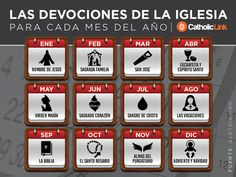 Biblioteca de Catholic-Link - Infografía: Las devociones de la Iglesia para cada...