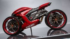 Ducati Assalto concept by Florian Rothbauer
