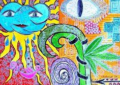 POLARITAETEN+-+KIRSTEN+KOHRT+ART+von+KIRSTEN+KOHRT+ART++-+International+shipping+available+auf+DaWanda.com